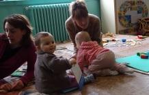 Anaïs, Carole et les petits