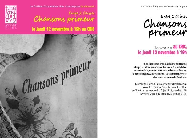Chansons primeur - CRIC -