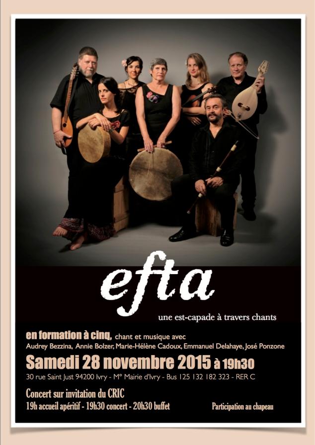 Concert EFTA - CRIC