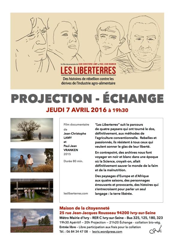 Affiche Liberterres